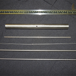 Fixators, Stabilizers and surgical Olive Wire over 20 inches in length.